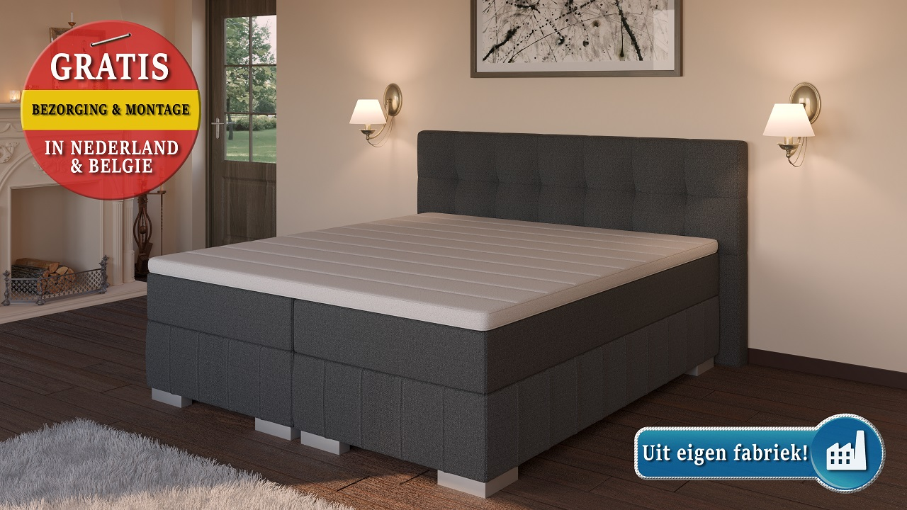 Latest Persoons Boxspring With Potenset Lattenbodem Ikea